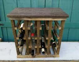 standing wine rack etsy