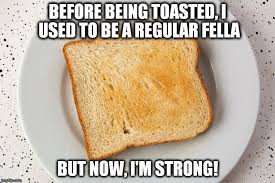 Toast Meme - toasted bread why toasting bread makes it golden brown and crispy