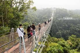 houtanjing sky bridge round taiwan round