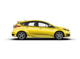 ford focus st yellow 2018 ford focus st st hatchback yellow tri coat for