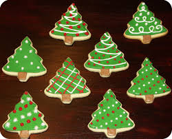 christmas tree cookies decorating christmas lights decoration