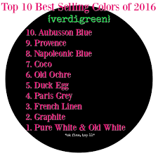 top 10 of 2016 chalk paint by annie sloan verdigreen