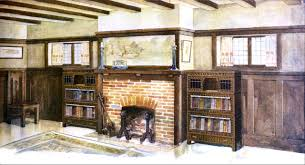 Craftman Style File Craftsman Style Home Library Jpg Wikimedia Commons