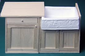 Dollhouse Kitchen Furniture How To Make Custom Dollhouse Kitchen Cabinets