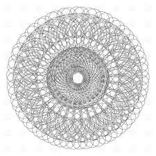 decorative lace ornament vector clipart image 11537 rfclipart