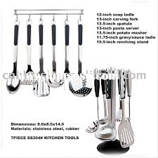 amazing design ideas kitchen utensils names and uses home
