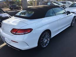 used mercedes convertible 2017 used mercedes benz c class c 300 cabriolet at mercedes benz
