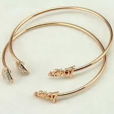 silver crystal heart bracelet images Vintage silver gold color adjustable open bangles love cuff jpg