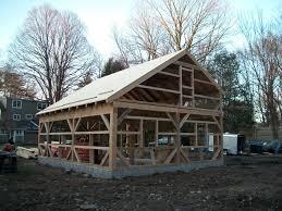salt box wood barn kits barn building kits timber frame plans