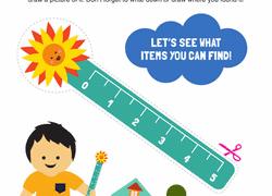 preschool scavenger hunt worksheets u0026 free printables education com