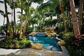 pool landscaping ideas and basic rules for the decor of the exterior
