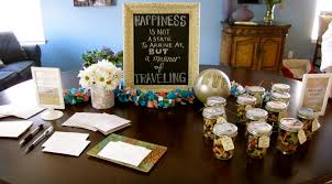 travel themed bridal shower put a personal touch on celebrations by creating designs