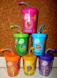 favor cups guppies party favor cups personalized with name age