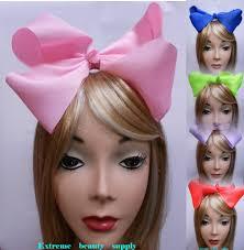 large hair bows boutique handmade big girl large jumbo satin clip hair