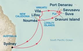 cruises to sydney australia fiji and south pacific trip from sydney 14 cruise