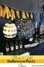 halloween party ideas 2015 black and gold halloween party ideas michelle u0027s party plan it