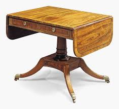 Antique Sofa Table A Z Of Furniture Terminology To Know When Buying At Auction