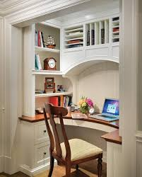 Home fice in a Closet size space black office Home fice Design Remodel Decor and Ideas page 7 Home fice Ideas