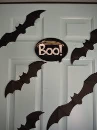 Plastic Front Door by Makin U0027 Projiks Boo The Front Door This Year Halloween Edition