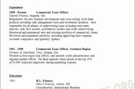 Loan Officer Resume Sample by Real Estate Loan Officer Resume Reentrycorps