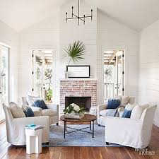 blue livingroom decorating ideas for blue living rooms better homes and gardens