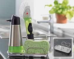 eponge vaisselle avec reservoir organiseur d u0027évier becquet