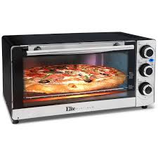 Reheating Pizza In Toaster Oven Elite Platinum Eto 140c Stainless Steel 6 Slice Convection Toaster
