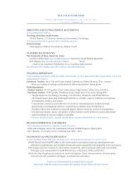 Physical Trainer Resume Resume Athletic Director Example
