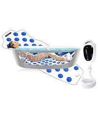jet bath mat spa w remote etc