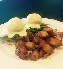 eggs benedict picture of island kitchen nantucket tripadvisor