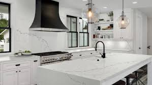 black kitchen countertops with white cabinets choosing the best countertops for your home