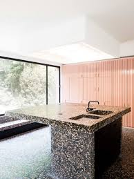 kitchen islands that look like furniture trend 36 terrazzo design and decor ideas digsdigs