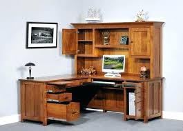 L Shaped Desk With Hutch Walmart Mesmerizing Computer Desks With Hutch That Eye Cathcing Navassist Me