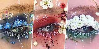 The Makeup Artist Handbook Terrarium Eyes Floral Eyeliner Ellie Costello