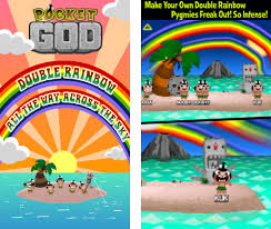 Double Rainbow Meme - pocket god and puzzle quest 2 updated just in time for the royal