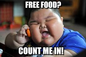Free Food Meme - count me out of free food album on imgur