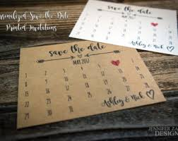 wedding save the date postcards wedding save the dates etsy