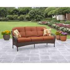 Curved Patio Furniture Set - sofas center curved outdoorofaectional wicker venice