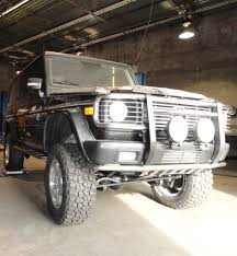lifted mercedes sedan mbh dyno comp g55 custom lift kit preview mbworld org forums