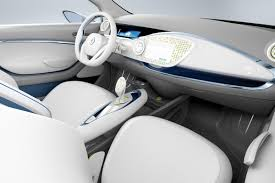 renault zoe interior paris show renault zoe preview teases 2012 production ev and