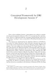 conceptual framework sample thesis 2 conceptual framework for dri development session 1 the page 11