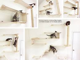 cat wall furniture the cat mod modular climbing systems by catastrophicreations