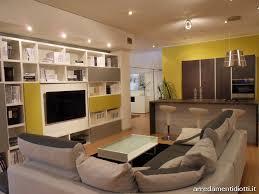 divani cucina open space composto da soggiorno e divano diotti a f arredamenti
