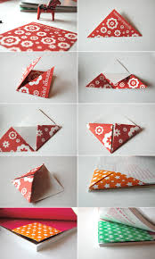 origami book mark great gift for teacher at the end of the yard or