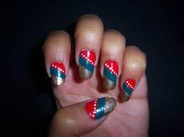 rainbow aztec tribal nail art best nail 2017 nail art indian