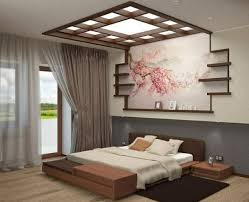 Japanese Bedroom Japanese Bedroom Style With Simple Headboard And Ceiling