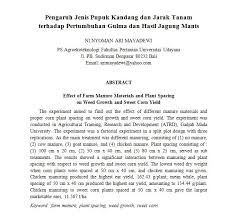 format abstrak tesis submissions e journal agribisnis dan agrowisata journal of