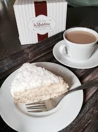 la madeleine country café coconut cake at home recipe