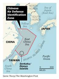 East China Sea Map by U S Flies Two Warplanes Over East China Sea Ignoring New Chinese