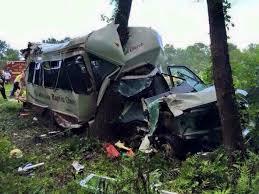 twenty philadelphia baptist youth chaperones injured in bus crash